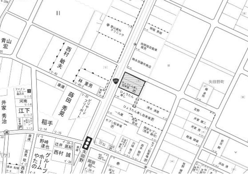 小松市矢田野町チ79.78の地図