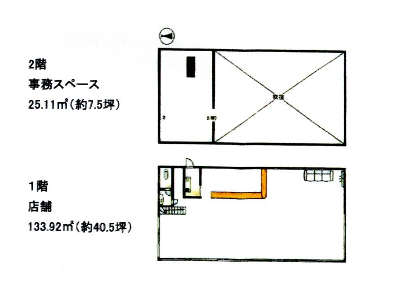 小松市長田町ロ21-2の間取り図